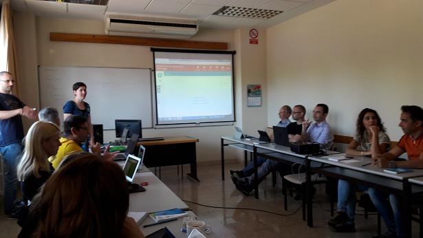 "Reunión del proyecto ""School on the Cloud"" en Madrid"" junio 2016"